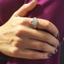Серебряное кольцо 731 2