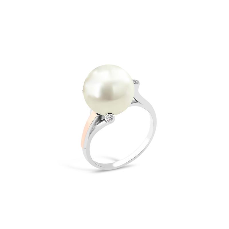 Кольцо с жемчугом 563