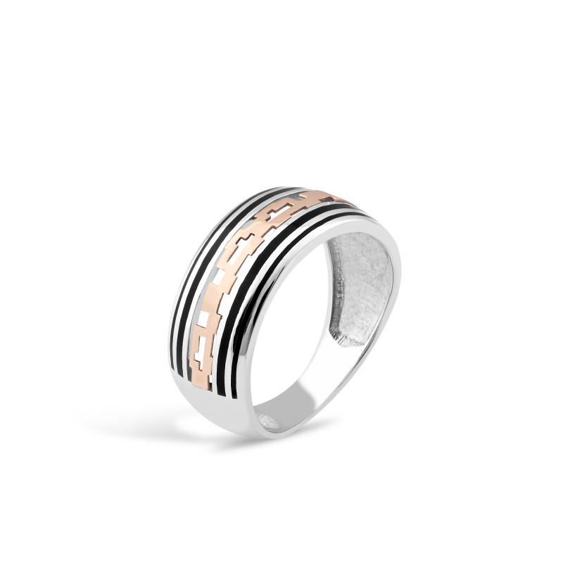 Кольцо с эмалью 295