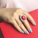 Кольцо с яшмой 434 2