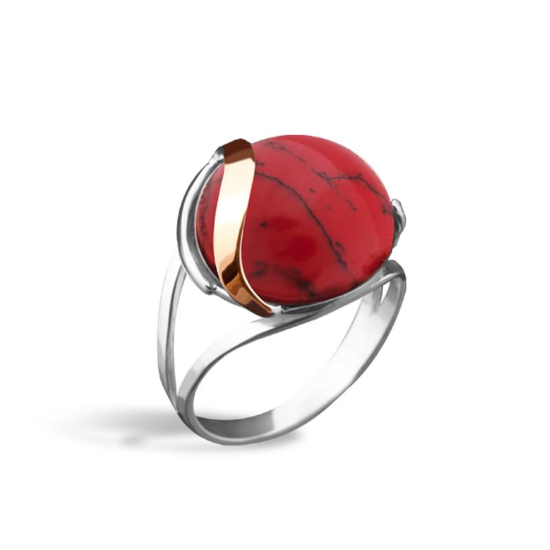 Кольцо с яшмой 154